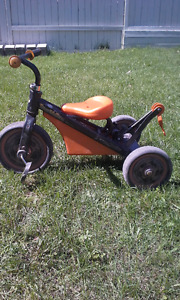 Boy's tricycle (tow truck type)