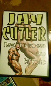 JAY CUTLER NEW IMPROVED AND BEYOND DVD SET
