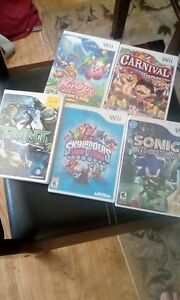 Various Wii Games in Excellent Condition