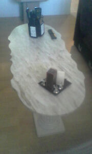 Real ( Marble ) center table