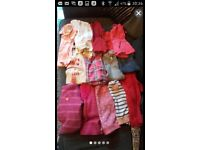 Bundle of girls clothes age from 1-4