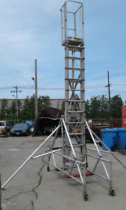 TALLESCOPE PORTABLE LIFTING PLATFORM $600.00