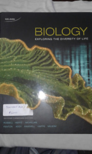 Biology : Exploring the diversity of life second edition