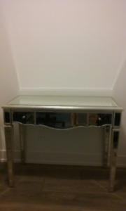 Mirrored Vanity/Console Table