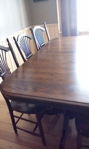 gorgeous SOLID OAK Dining room set Peterborough Peterborough Area image 3