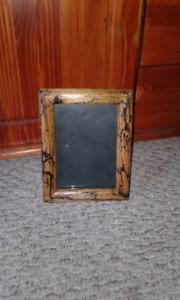 Lichenburg burn art picture frame