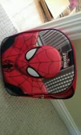 Childs spiderman back pack