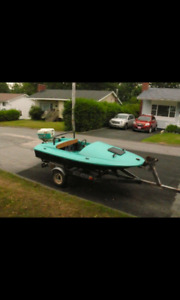 10 ft Hydroplane speed boat