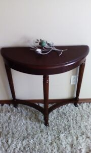 Table console,demi lune d appoint Bombay