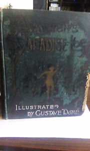Antique copy of Milton's Paradise Lost