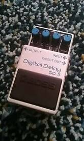 Boss DD-3 (Digital Delay pedal)