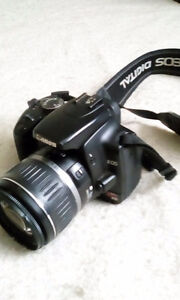CANON REBEL DIGITAL CAMERA WITH ZOOM LENS FOR SALE