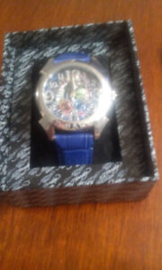 ED HARDY RE-PT BLUE REVOLUTION MENS WATCH