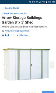 Looking for outdoor storage shed