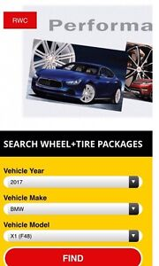 """Winter  17"""" package for 2017 BMW X1 - ready to go.  Stratford Kitchener Area image 2"""