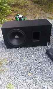 10 inch pulkaudio sub with power plant