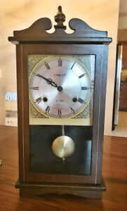 """Wooden """"Chalet"""" Chiming Clock For $40"""