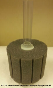 Air Operated Biological Hydro Sponge Filters