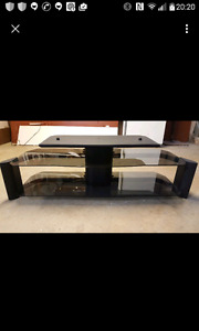 60 $ Table de tv en verre