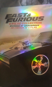 Sell the full set of fast&the furious all 8 of them