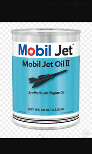 Mobil one jet oil 2