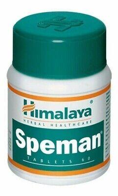 1 X Himalaya Herbals Speman Tablet - 60 Tablet US SHIPPED Expiry 2021