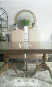 WEATHERED FARMHOUSE TABLE