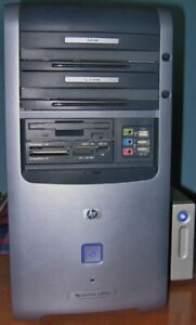 PC TOWER WITH MONITOR, KEYBOARD, MOUSE, & MORE
