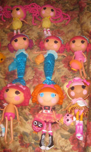 Large lot of Lalaloopsy Dolls, Scooters, Easy Bake Oven