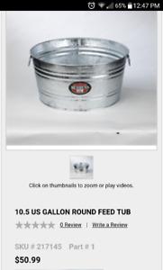Galvanized Tub / Trough