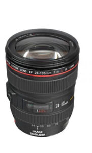 Canon L lens 24-105 very good condition.