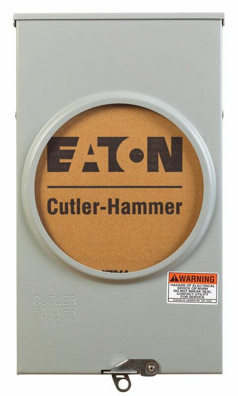 Eaton 200 amps Ringless Overhead/Underground Meter Socket - Case Of: 1;