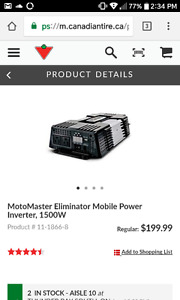 Camping power invertor a must have