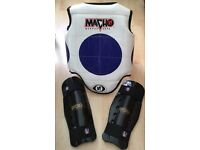 Martial arts sparring gear