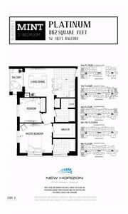 2 Bed 2 Bath - NOW Brand New MINT Condos - The Best True Value!