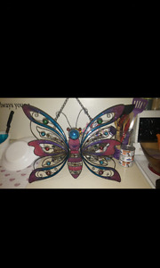 Beautiful large hanging butterfly