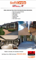 SoftCrete Resurfacing/Repairing (Driveways, Decks, Walkways)