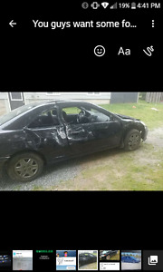 2005 Honda Civic Dx  for parts      D17a1 motor