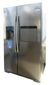 BRAND NEW Side-by-Side S/S Refrigerator With Water/Ice Dispenser