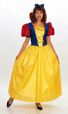 Rubie's Classic Snow White Deluxe Storybook Princess Adult Costume Large 15069 (Snow White Deluxe Adult Costume)