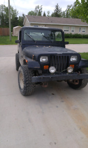 1992 Jeep yj part out
