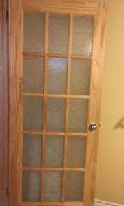 Interior Natural French door 32x80