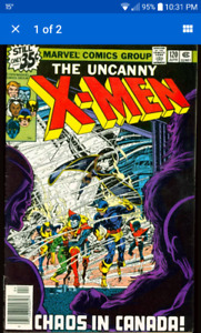 Looking for Comic Books (good condition, key issues only) $$