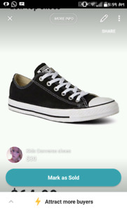 Brand NEW infants size 12 converse shoes