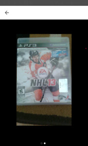 NHL 13 PS3 Game