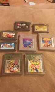 Gameboy games for sale!