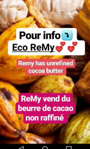 100% natural Cacao butter