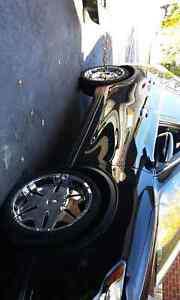 """22"""" Player Rims With Tires (2 New)"""
