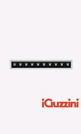 IGuzzini MK54 Laser Blade Recessed LED 21W 3000K 1840lm White Black