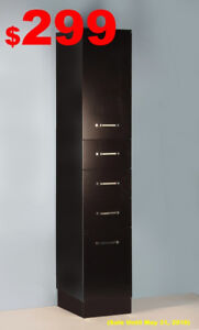 """Linen Tower *NEW* *More Storage for Bathroom"""" From $219"""